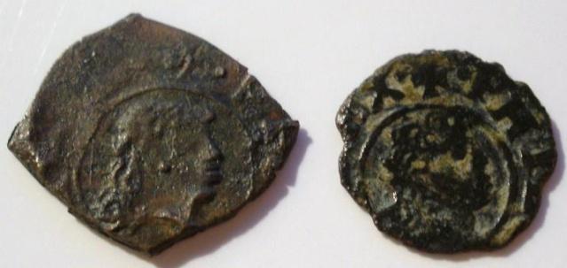 Dinero FelipeV falso de epoca P9090310