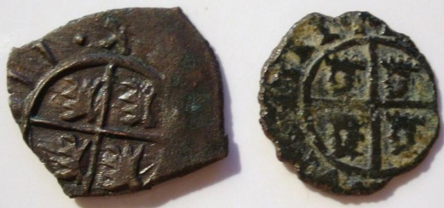 Dinero FelipeV falso de epoca P9090311