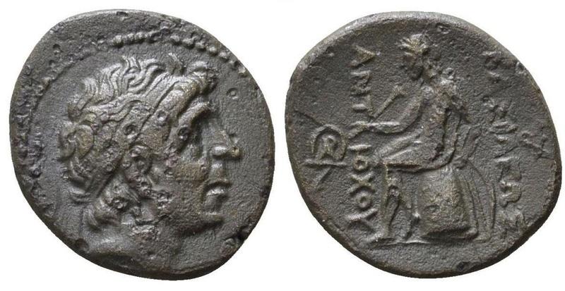 AE18 de Antioco I Soter. Seleuk10