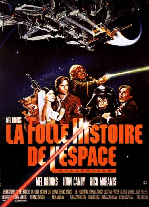 La folle Histoire de l'Espace : parodie de Star Wars (1987) Comédie 00791810