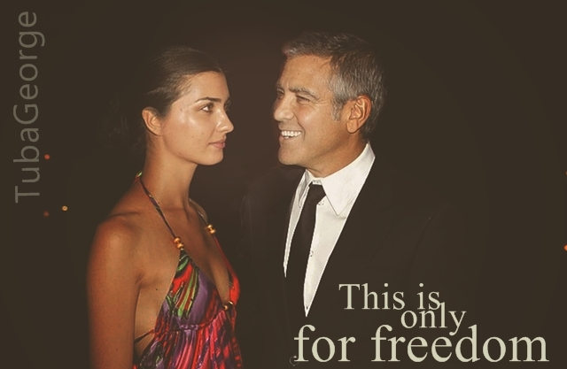 George Clooney and Tuba Buyukustun photshopped pictures - Page 16 756710