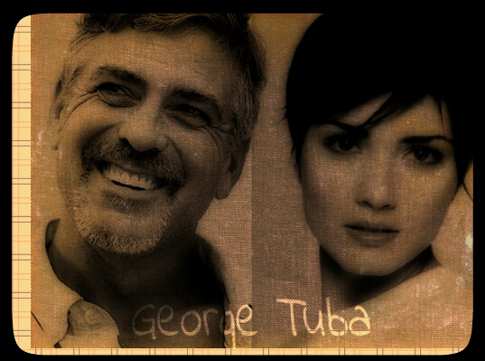 George Clooney and Tuba Buyukustun photshopped pictures - Page 17 Picsar16