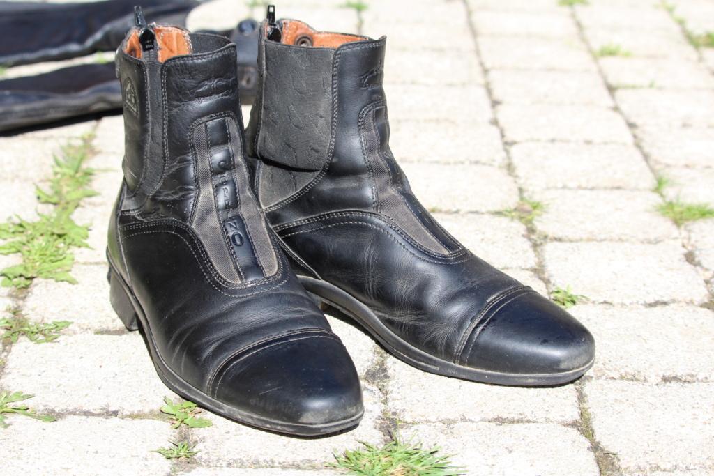 Boots et mini chaps veredus Img_5212