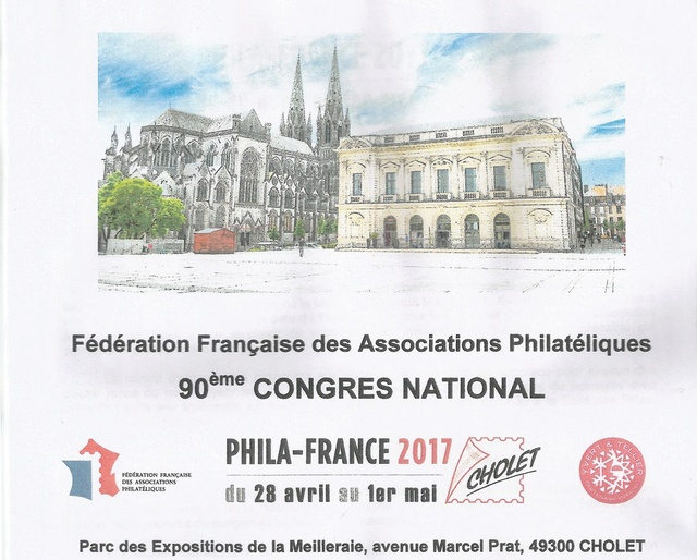 PHILA FRANCE 2017 CHOLET Cholet11