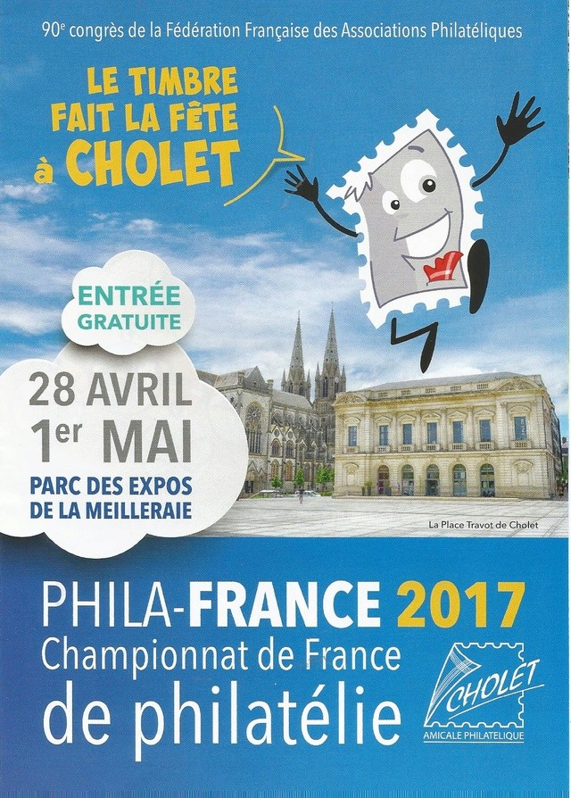 PHILA FRANCE 2017 CHOLET Cholet12