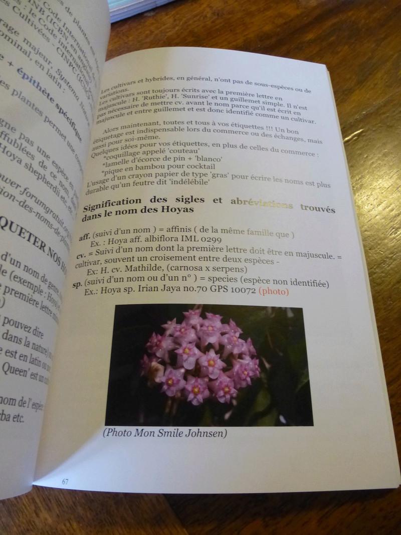 Un magnifique livre  sur les hoyas vient de paraitre  P1230113