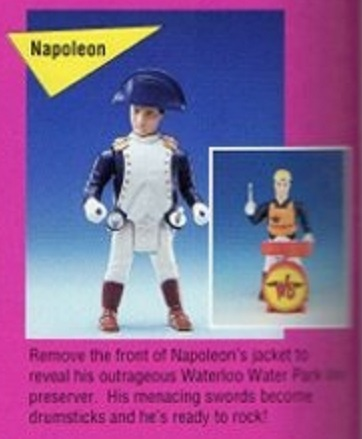 BILL & TED'S EXCELLENT ADVENTURE  (Kenner)  1991 Proto010