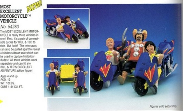 BILL & TED'S EXCELLENT ADVENTURE  (Kenner)  1991 Proto011