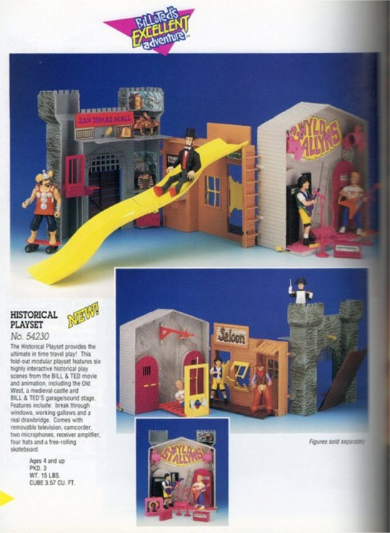 BILL & TED'S EXCELLENT ADVENTURE  (Kenner)  1991 Proto014