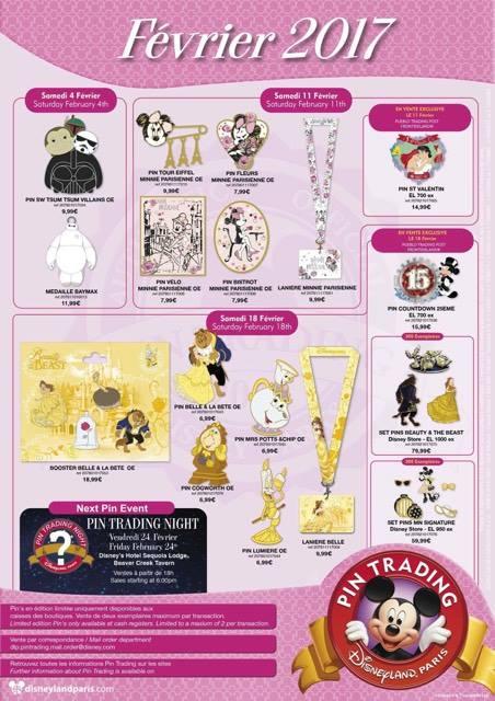 Le Pin Trading à Disneyland Paris - Page 38 16559110
