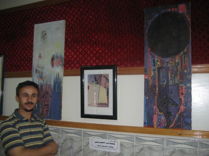 Journées d'informations sur l'art en plastique أيام إعلامية للفنون التشكيلية Mohdeb10