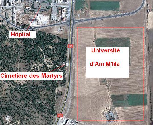 بشرى لنا قطب جامعي بعين مليلة Le pôle universitaire d'Ain m'lila Univer10