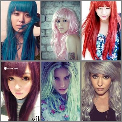 Ces couleurs de cheveux improbables qu'on aime Cheveu10