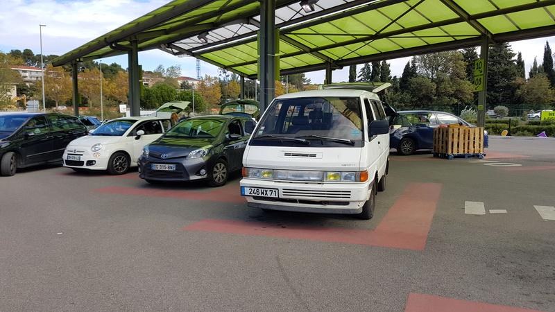 Nissan Vanette GC22 2.0L essence  20161148