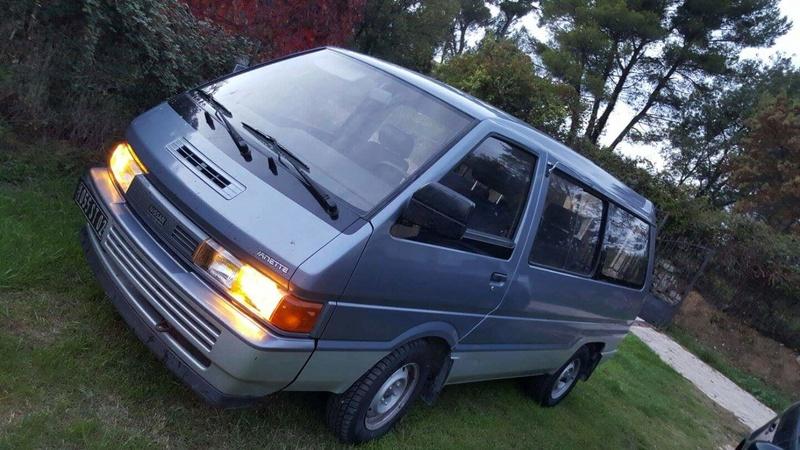 Nissan Vanette GC22 2.0L essence  Receiv28