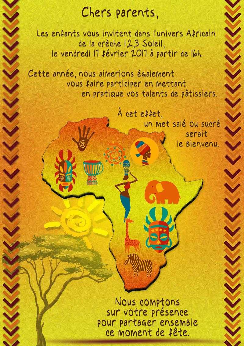 Affiche carnaval Africa10