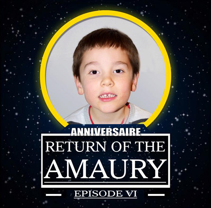 anniversaire de mon fils theme star wars Amaury10