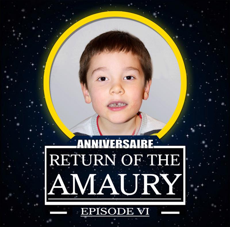 anniversaire de mon fils theme star wars Amaury11