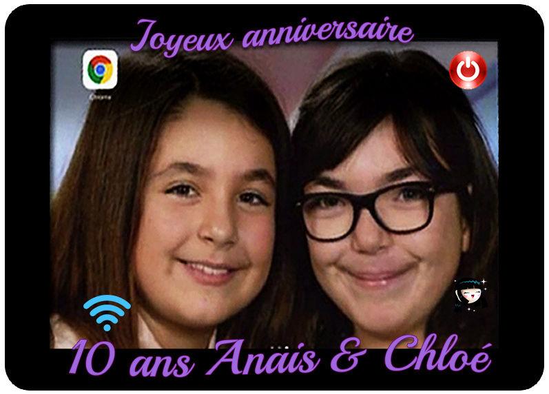 invitation anniversaire 10 ans Ipad210