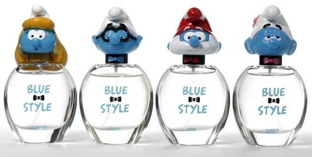 [Kayess] Parfum avec bouteilles schtroumpfs Parfum14