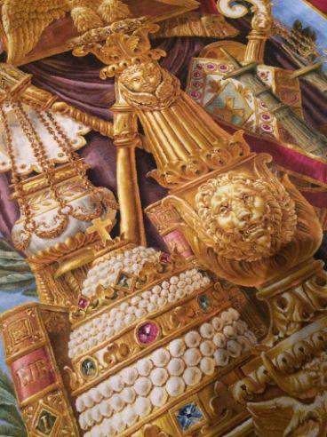 Notre-Dame de Paris. Exposition « Tapis du choeur » 316
