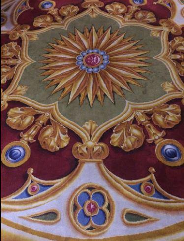Notre-Dame de Paris. Exposition « Tapis du choeur » 418