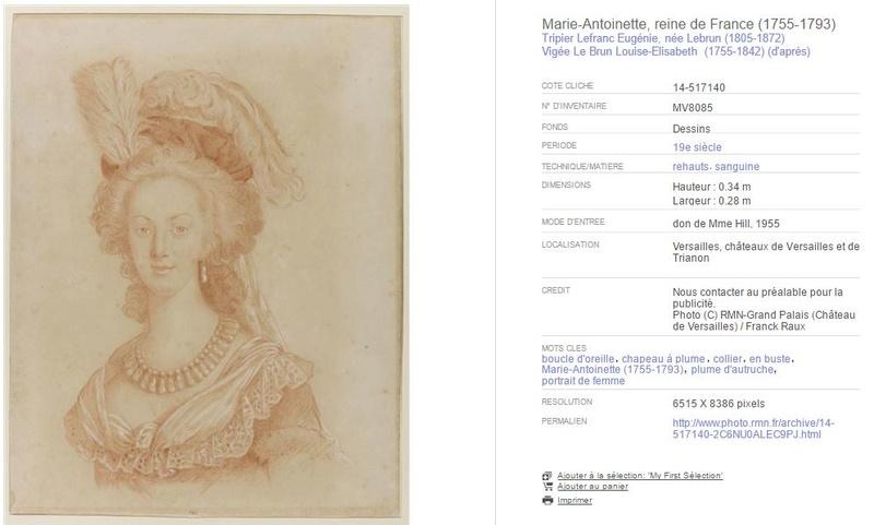 "Exposition ""Marie-Antoinette"" de 1955 715"