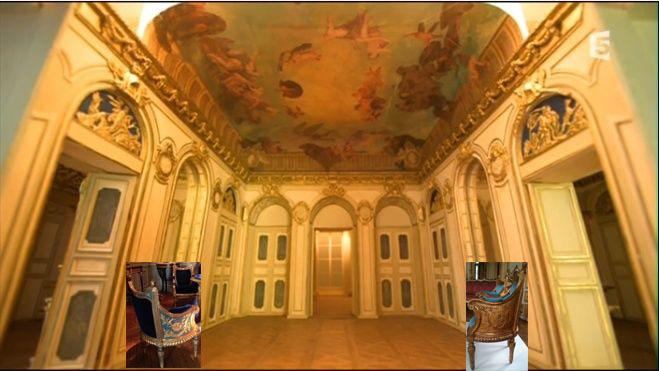 Expo. Archives nat. Les décors de la Chancellerie d'Orléans Arevoi11