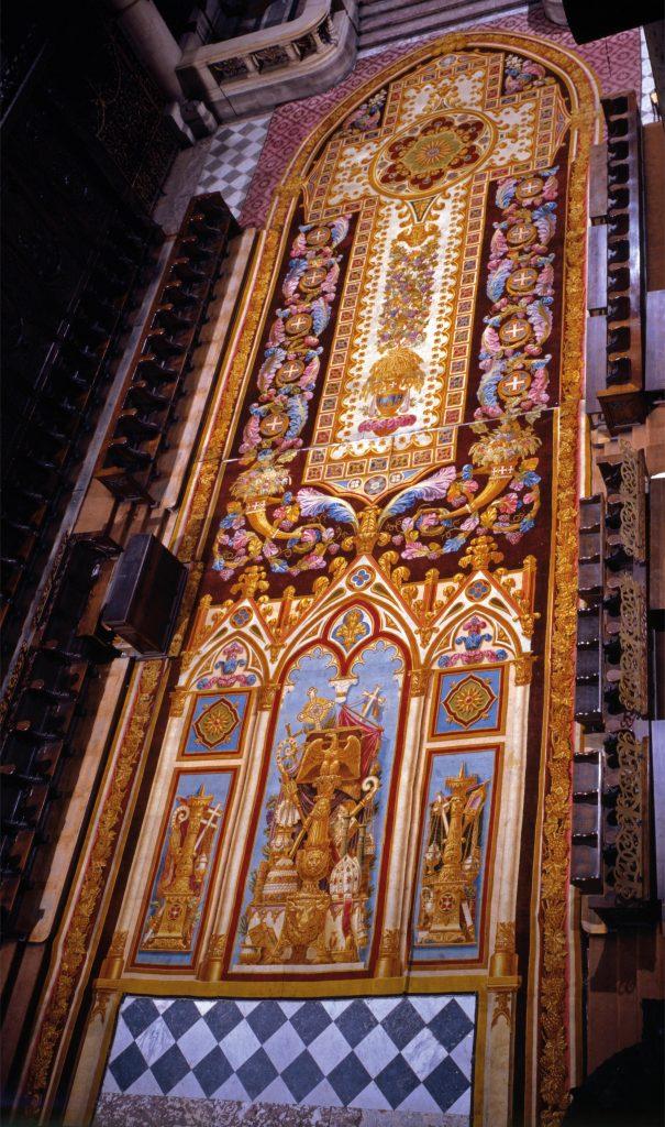 Notre-Dame de Paris. Exposition « Tapis du choeur » Boulla10
