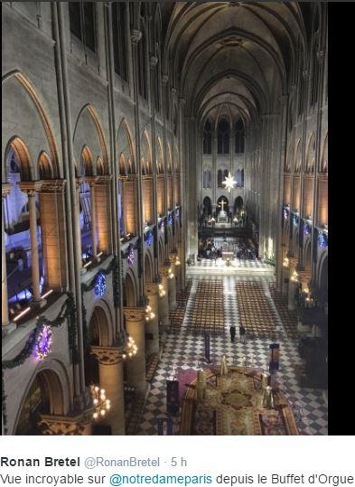 Notre-Dame de Paris. Exposition « Tapis du choeur » Captur34