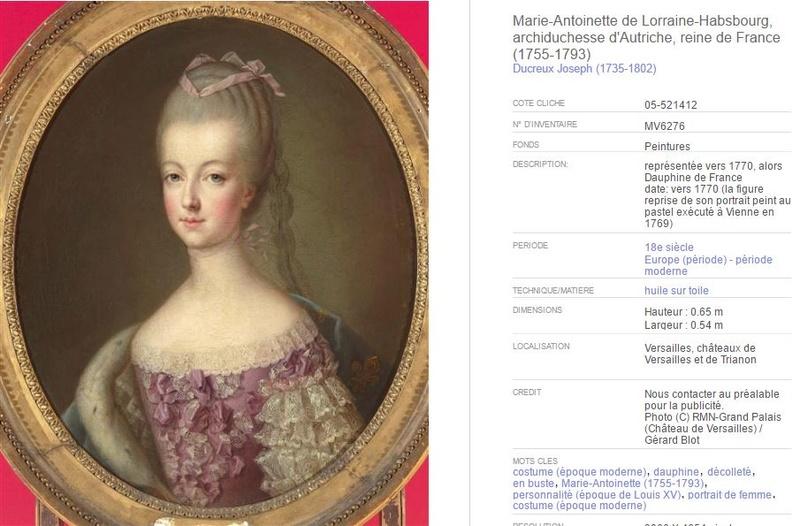 """Exposition """"Marie-Antoinette"""" de 1955 Ducreu10"""