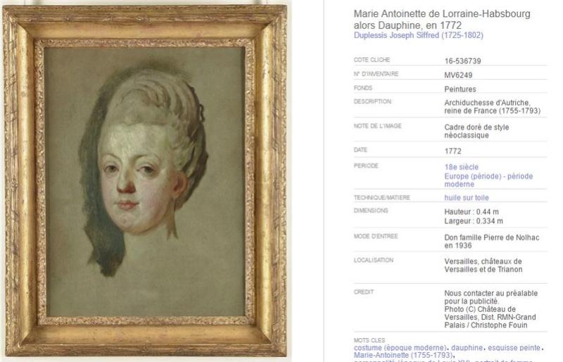 """Exposition """"Marie-Antoinette"""" de 1955 Duples10"""