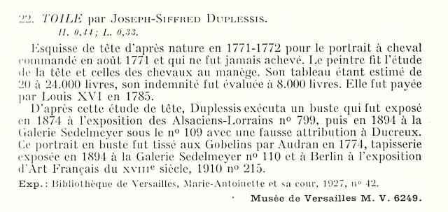 """Exposition """"Marie-Antoinette"""" de 1955 Duples11"""