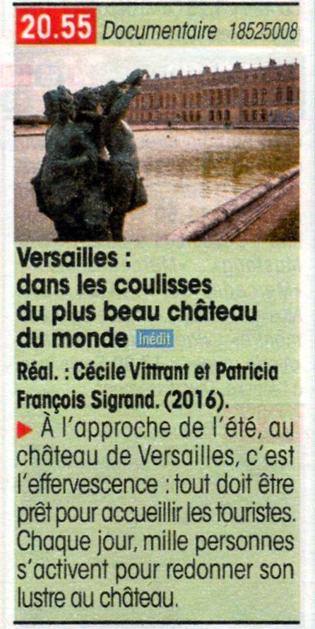 TMC - Versailles : dans les coulisses du plus beau chateau Img02010