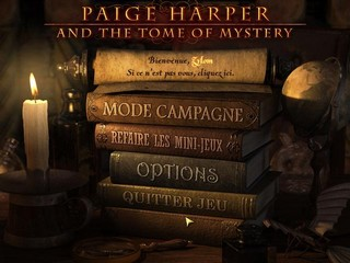 Paige Harper and the Tome of Mystery (Jeu d'objets cachés) 10070610