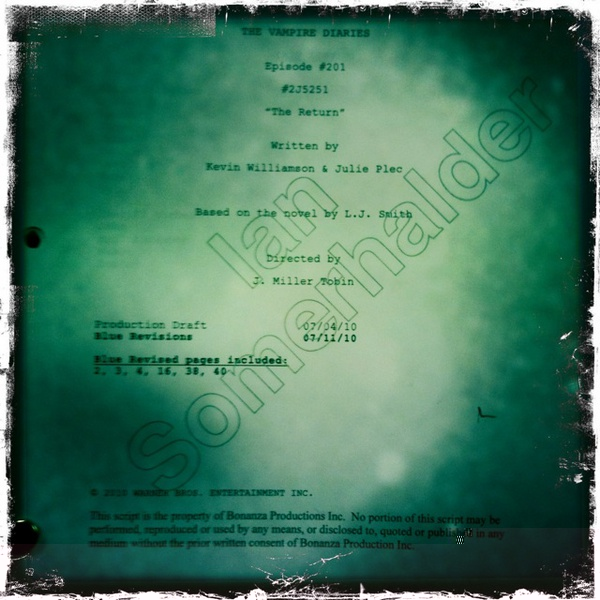 Spoilers The Vampire Diaries temporada 2 201the10