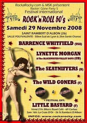 Rockin Gone Party Novembre 2008 Rockin11
