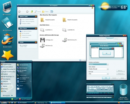 Themes de  Vista pour  Windows XP  100/100 9lcvir11