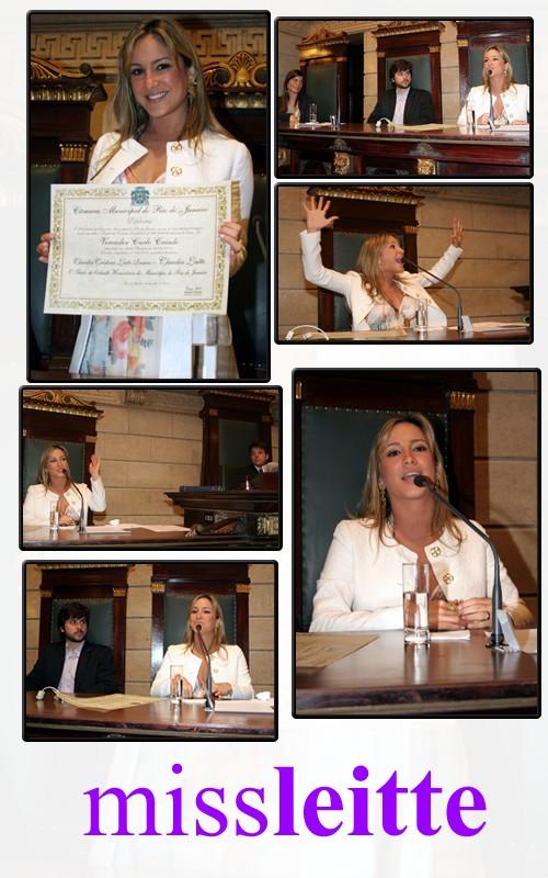 Claudia Leitte se emociona ao receber título de cidadã honorária do Rio Fotos10