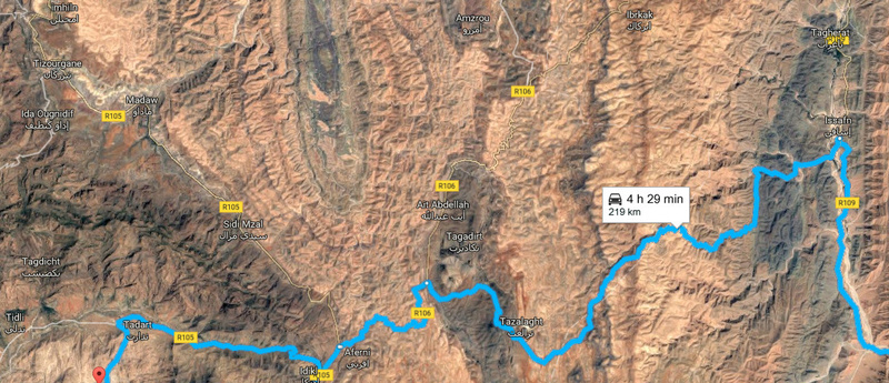 [Carburant, Routes, Police] route taroudant igherm tata Tata10