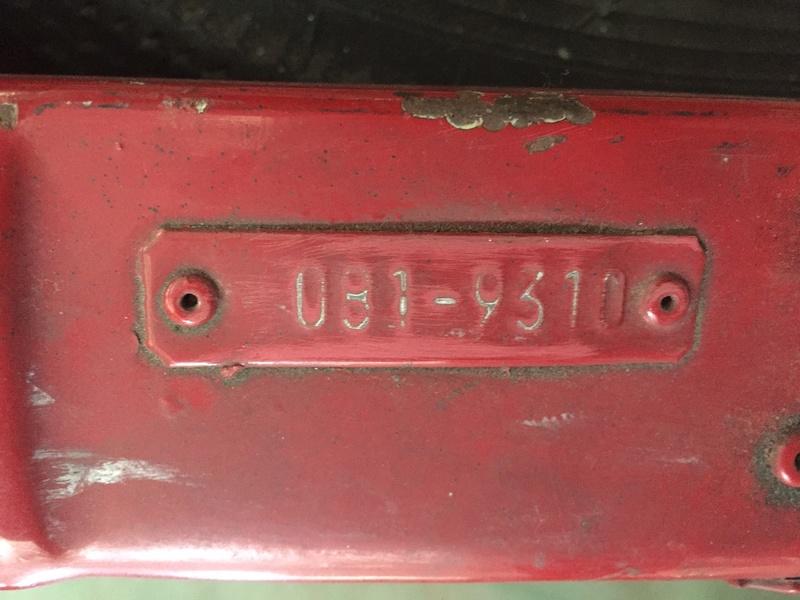 Plaque avec le code couleur Code_c10