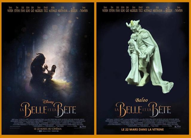 LA BELLE ET LA BETTE Affich11