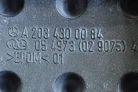 (W205): Part number dos pedais modelo AMG da C250 W203_f10
