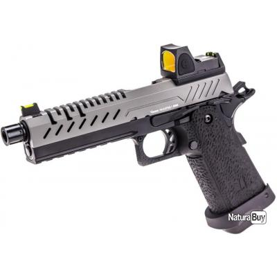 Réplique de pistolet avec red dot intégré sur la culasse.. 400f_016