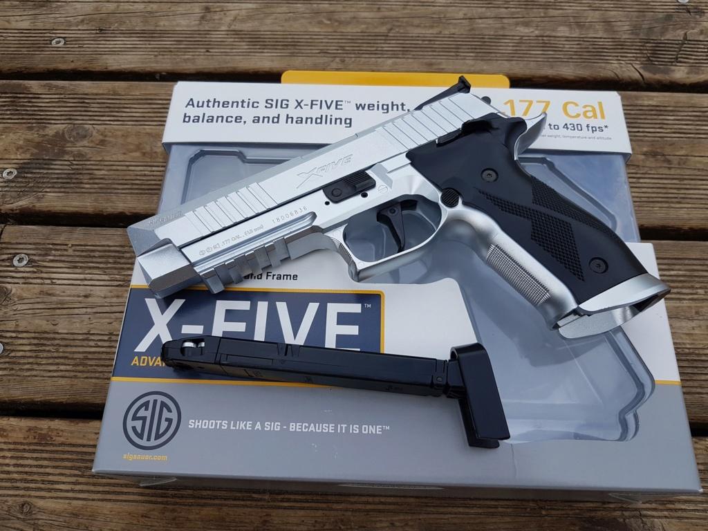 Choix pistolet CO2 Sig10