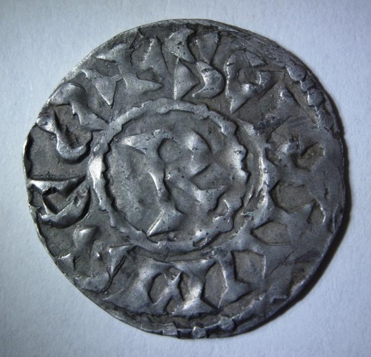 Denier féodal des Evêques de Vienne - Thibaut 952-1000 Foto_p10