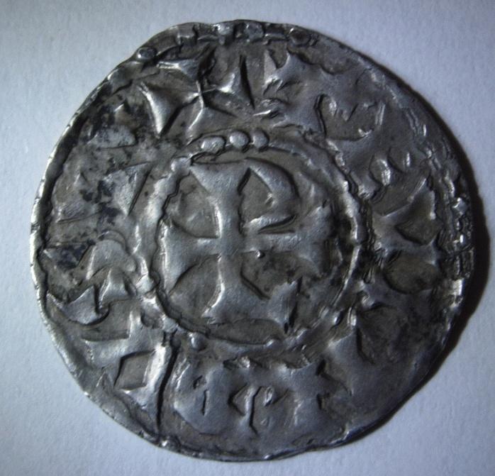 Denier féodal des Evêques de Vienne - Thibaut 952-1000 Foto_p11