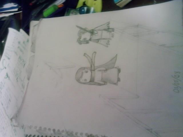 Quelque dessins que j'ai fait durant l'été... Drawin12