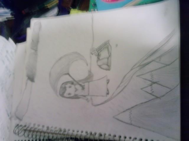 Quelque dessins que j'ai fait durant l'été... Drawin13