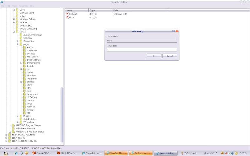 Đăng nhập nhiều Account Yahoo Messenger không cần dùng tool Ym021110